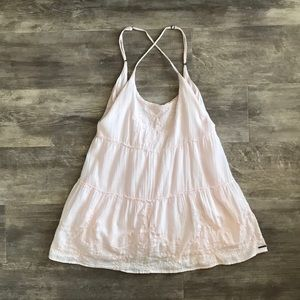 "Abercrombie Small Pale Pink Tunic Short ""Dress"""